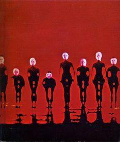 Sanctum - Nikolais Dance Theatre (photo Ken Kay) 1970