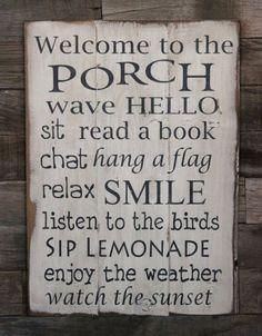 "whiteysplace: "" Need porch. """