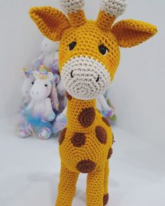 # easy crochet projects for kids to make LARGE GIRAFFE Crochet Patterns Amigurumi Crochet pattern Crochet Animal Hats, Crochet Animal Amigurumi, Crochet Animal Patterns, Stuffed Animal Patterns, Amigurumi Patterns, Crochet Toys, Crochet Baby, Crochet Stuffed Animals, Crochet Ladybug