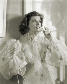 Katharine Hepburn Bringing Up Baby