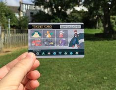 Inspired by the classic video game designs, these customized cards are ideal for showing off your dream team and hard-earned gym badges. They're the size of a credit card, making them the perfect addition to any wallet or lanyard. Pokemon Card Template, Flash Card Template, Free Business Card Templates, Greeting Card Template, Best Templates, Business Cards, Pokemon Trainer Costume, Pokemon Trainer Card, Pokemon Craft
