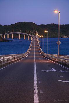 角島大橋(山口) Tsunoshima Bridge, Yamaguchi, Japan