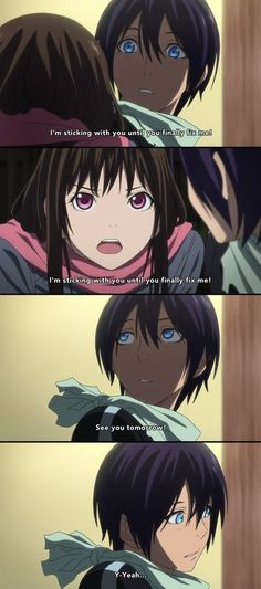 Hiyori and Yato