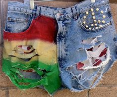 Vintage Rasta Dukes by RiskyBunny on Etsy, $50.00