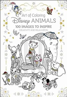 Art of Coloring Disney Animals.