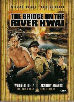 El puente sobre el río Kwai Película sobre la Segunda Guerra Mundial que narra la historia de la destrucción, a manos de los aliados, de un puente para ferrocarril construido por los prisioneros británicos en la Birmania ocupada. DVD 791 AVENTURA pue