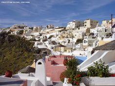 Greece - Santorini Island | HD Desktop Wallpaper Collections
