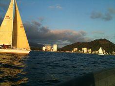 Waikiki yacht race