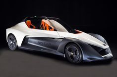 Too Bad Youll Never Drive Nissans Razor-Like Electric Concept