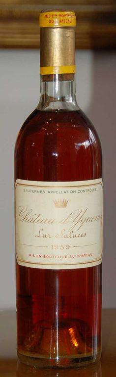 Chateau d'Yquem #wine #vin #eWinesApp