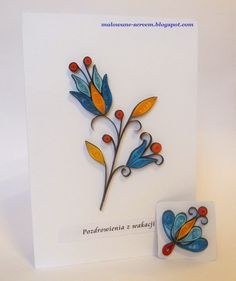 I like the dark borders around the colors. Paper Quilling Cards, Paper Quilling Tutorial, Paper Quilling Flowers, Neli Quilling, Origami And Quilling, Quilled Paper Art, Quilling Craft, Quilling Patterns, Quilling Designs