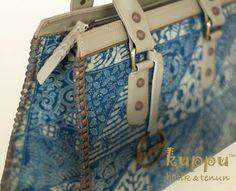 Donna Tuban Tote Bag - Indigo  By Kuppu Batik & Tenun  3.375.000,00    - 35x26x13cm (LxHxW)  More info  Laura 08119103668 Pin Bb 751E6162  #indigo #tuban #tas #bag #handbag #madeinindonesia #fashion #kuppu #batik #tasbatik