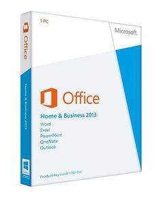 Office Home and Business 2013 DVD – FPP (Includes Word Excel Powerpoint One Note Outlook) - Only +- less than retail stores! Office Office, Office Suite, Home Office, Office Ideas, Microsoft Windows, Windows Xp, Cheap Windows, Mac Os, Windows Update