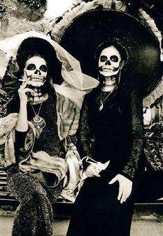 skeleton. ladies. day of the dead. | RP ».