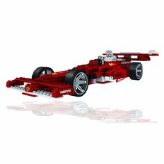 LOZ Diamond Blocks Racing Series - F1 Racing Cars RED