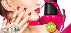Hair Studio Estética y Peluquería - $279 en lugar de $709 por 1 Manicure y Pedicure OPI + 1 Tratamiento de Nutrición Capilar Paul Mitchell Click http://cupocity.com