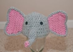 Elephant baby hat on Etsy