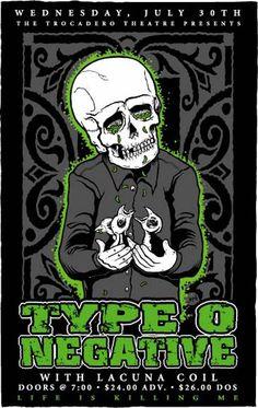 Type O Negative @ The Trocadero Theatre, Philadelphia, PA - 7/30/03