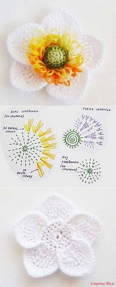 Watch The Video Splendid Crochet a Puff Flower Ideas. Phenomenal Crochet a Puff Flower Ideas. Crochet Doily Diagram, Crochet Flower Patterns, Crochet Chart, Love Crochet, Irish Crochet, Crochet Motif, Crochet Doilies, Crochet Stitches, Crochet Baby