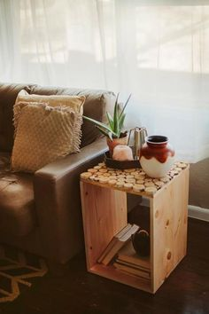 DIY: Birch wood table