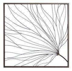 Gingko Leaf Metal Artwork