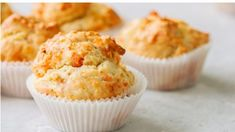 Homemade savory muffins with fish and cheese on a white stone background. healthy snack or Best Homemade Dog Food, Homemade Dog Treats, Healthy Dog Treats, Savory Muffins, Savory Snacks, Dog Treat Recipes, Baby Food Recipes, Crockpot Recipes, Chicken Recipes