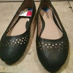 Black flats Black NEW never worn flats Shoes Flats & Loafers