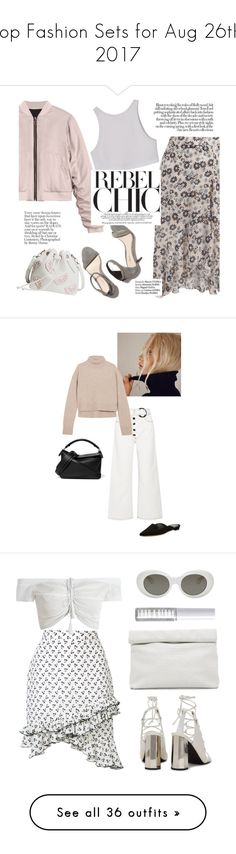 """Top Fashion Sets for Aug 26th, 2017"" by polyvore ❤ liked on Polyvore featuring 3.1 Phillip Lim, Haute Hippie, Rejina Pyo, Loewe, Manolo Blahnik, Altuzarra, Marie Turnor, Acne Studios, Senso and Lord & Berry"