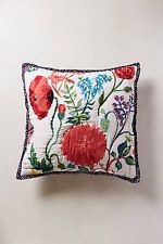 ANTHROPOLOGIE TUILERIES COLLECTION BY NATHALIE LETE EURO SHAM NEW IN PACKAGE!