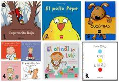 libros infantiles y cuentos para niños 2 a 3 años