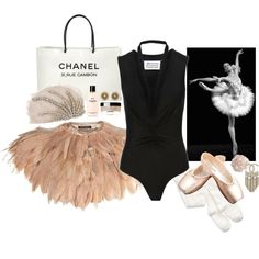 Chanel vintage ballet, created by jeanne on Polyvore