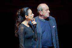 """Alessandra Ferri e Giorgio Ferrara nelle prove di """"The piano upstairs"""" ,@2mondifestival"""