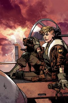 Wild Blue Yonder Cover 3 color by ~nelsondaniel on deviantART