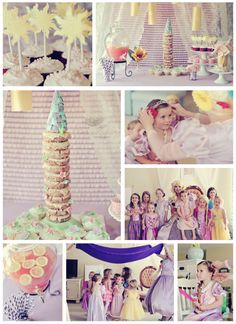 the MomTog diaries: A Tangled Festival of Lights Birthday: Ella's 4th Birthday Party