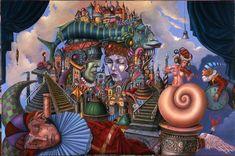 d - Paintings by Tomasz Setowski  <3 <3