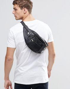 Image 3 ofReclaimed Vintage Oversized Leather Bumbag