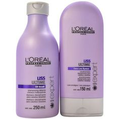 L´oréal Professionnel Liss Ultime Duo kit (2 produtos) | Shampoo 250ml + Condicionador 150ml | Beleza na web | R$127,80.