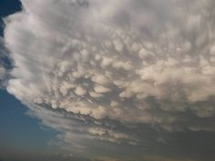 Mammatus Clouds over the Eastern Plains of Colorado