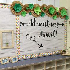 Adventure Themed Bulletin Board