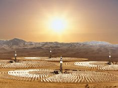 Crescent Dunes Solar Energy Project in Nevada