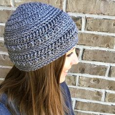 """FREE Crochet Pattern: The """"Oh So Textured"""" Beanie – Giggles and Curls"""