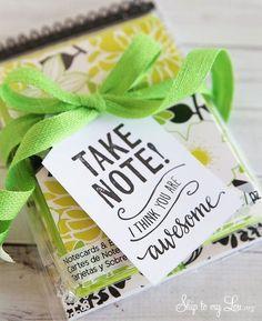 'Take Note - I think