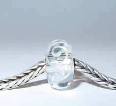 Luccicare Lampwork Bead - Ornament -  Lined with Sterling Silver by Luccicare on Etsy
