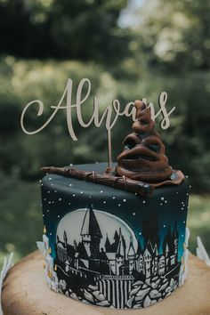 Harry Potter Wedding Cakes, Harry Potter Desserts, Gateau Harry Potter, Harry Potter Thema, Cumpleaños Harry Potter, Harry Potter Birthday Cake, Harry Potter Images, Harry Potter Theme Cake, Themed Cakes