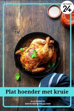 Plat hoender met kruie Juicy Baked Chicken, Lemon Chicken, Roasted Chicken, Slow Food, Best Lunch Recipes, Favorite Recipes, Free Food Images, World's Best Food, Comfort Food