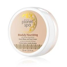 Planet Spa Blissfully Nourishing With African Shea Butter Hand, Elbow, and Foot Cream   http://www.youravon.com/srudek
