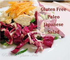 Poor and Gluten Free (Gluten Free on a Budget): Paleo, Gluten Free Japanese Salad