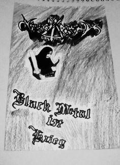 #Drawing Nargaroth#Black Metal Ist Krieg#A Dedication Monument