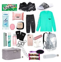 """what's in my volleyball bag?"" by tumblrl on Polyvore featuring Asics, Degree, Mizuno, Topshop, PhunkeeTree, Casetify, Monki, FOSSIL, Lug and Too Faced Cosmetics"