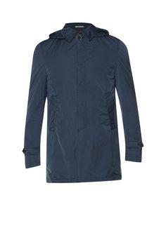 Van Gils Halflange jas Delvey Washed met uitneembare capuchon • de Bijenkorf
